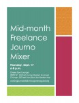 September mixer flyer